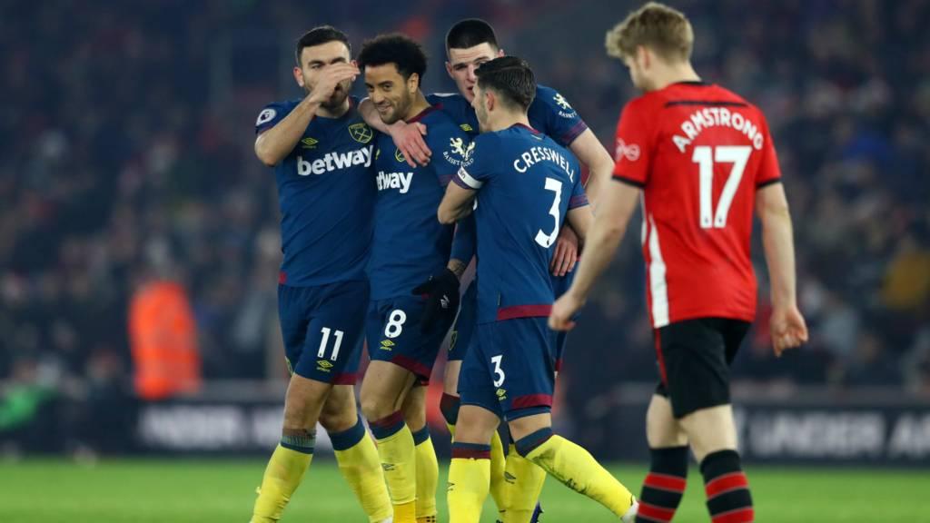 Prediksi West Ham United vs Southampton