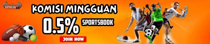 Sportbook 0,5%